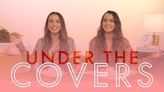 The Merrell Twins Are Scared of Monsters Under Their Bed   Cosmopolitan by Cosmopolitan