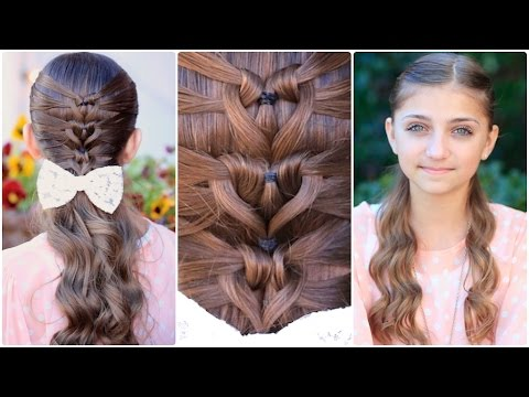 Mermaid Heart Braid | Valentine's Day Hairstyles