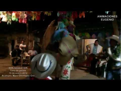 Toro de petate (San Sebastian Velacion 2012) HD Parte 4