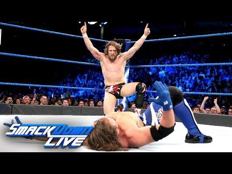 Video Daniel Bryan vs. AJ Styles: SmackDown LIVE, April 10, 2018 download in MP3, 3GP, MP4, WEBM, AVI, FLV January 2017