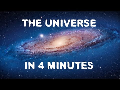 The Universe in 4 Minutes