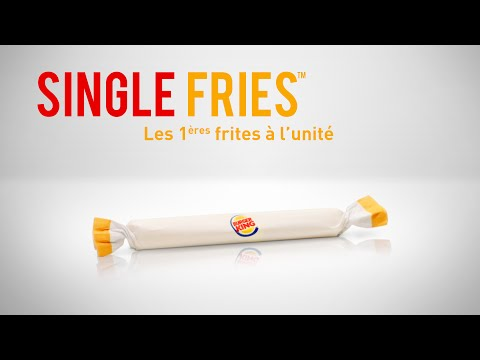 Individually Wrapped Fries Are Now Available at Burger