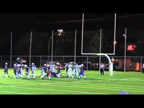 Game highlights 091915 St. Leonard Cougars @ North Shore Mustangs