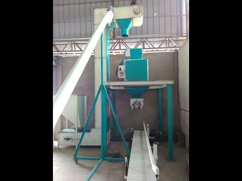 Automatic Weighing, Bagging, Packing & Stitching Machine