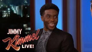 Video How Chadwick Boseman Created His Black Panther Accent MP3, 3GP, MP4, WEBM, AVI, FLV Maret 2018