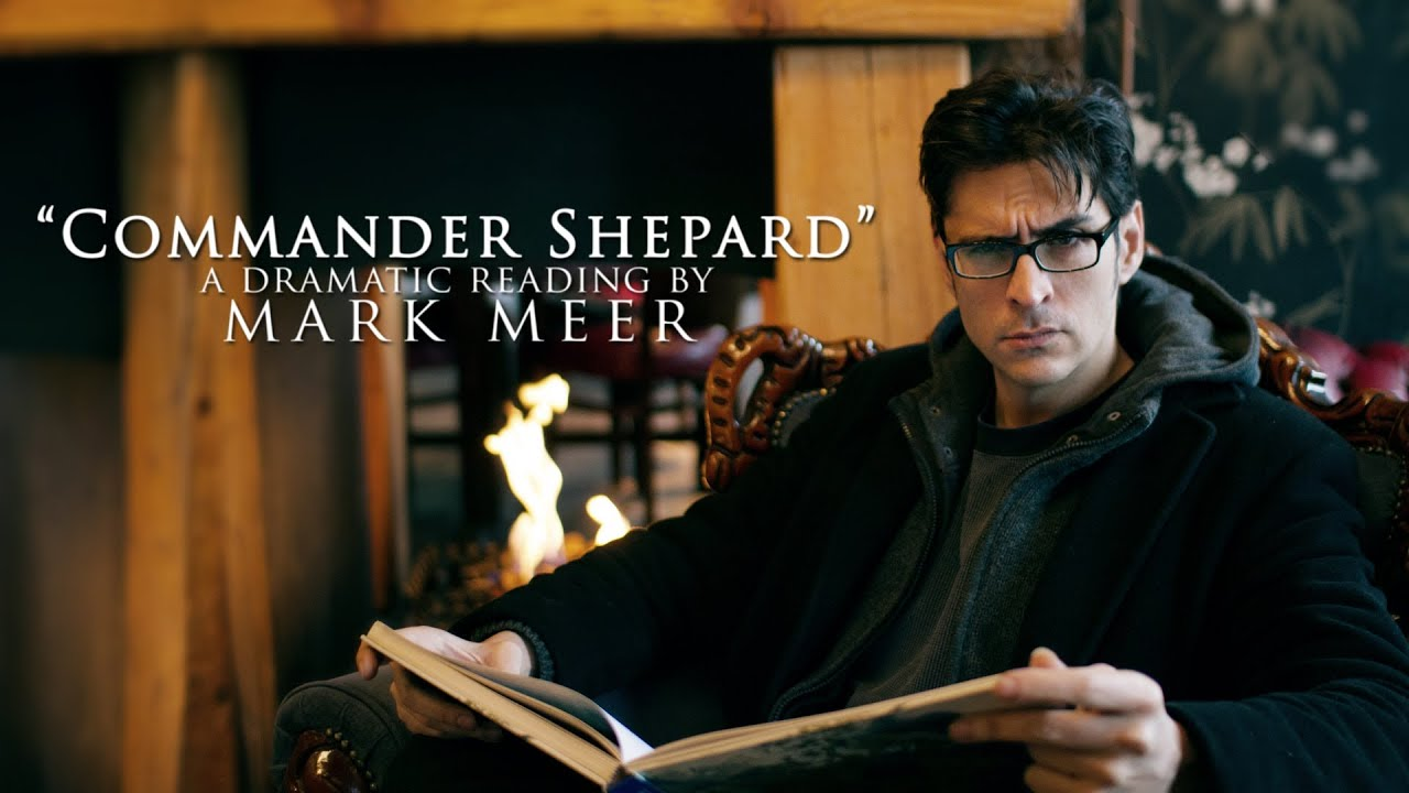 maxresdefault Commander Shepard: A Dramatic Reading by Mark Meer (Mass Effect)
