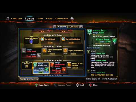Hunter Ranger Build and Guide, Neverwinter on Xbox One