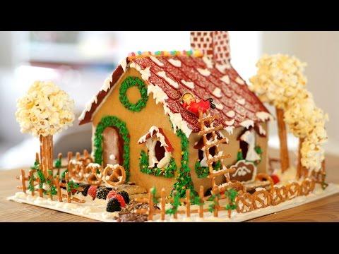 Giáng sinh lung linh cùng nhà bánh gừng mới lạ