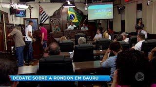 Audiência em Bauru discute sobre obras nas marginas da Marechal Rondon