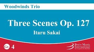 Download Lagu [Woodwind Trio] Three Scenes Op. 127 - Itaru Sakai Mp3