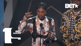 Lil Baby Wins First Award Ever As He Takes Best New Artist Award!| BET Awards 2019