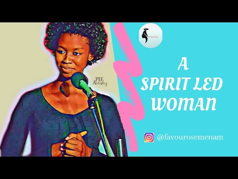 #Woman #DarasimiBamiloye A SPIRIT LED WOMAN BY DARASIMI MIKE-BAMILOYE // A QUEEN MAIDEN CONFERENCE