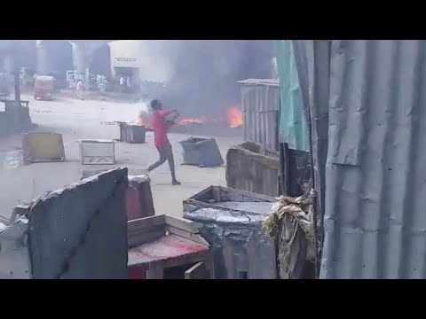 Επεισόδια μετά τη δολοφονία πολιτών από τον στρατό