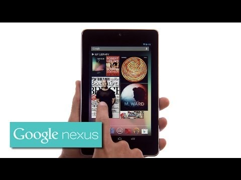 "Image of Nexus 7 Ad ""Google Play"" (Official Nexus 7 Promo Video)"