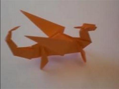 Оригами - Дракон