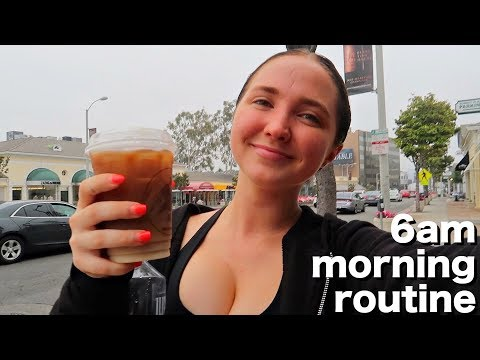 6AM Summer Morning Routine | Healthy & Productive