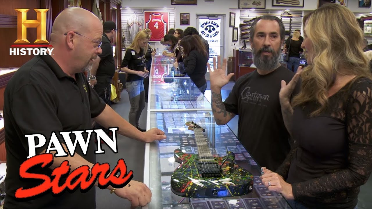 Pawn Stars: Phil Collen's Jackson Guitar | History