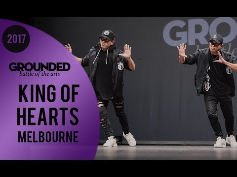 King of Hearts | Amazing Filipino Dance Group | GROUNDED 2017 Spotlight Melbourne