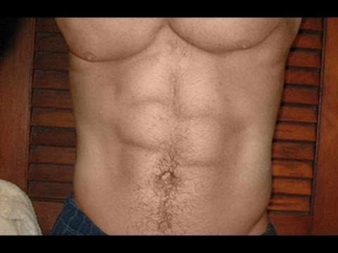 Photoshop: Best way to get  SIX PACK ABS!!!