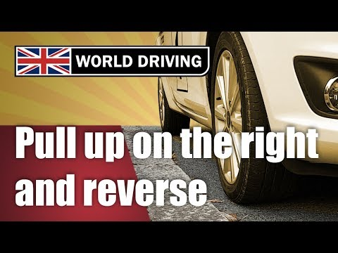 How to pull up on the right & reverse 2 car lengths - New driving test manoeuvre