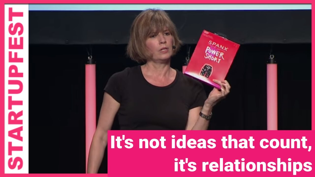 It's not ideas that count, it's relationships – Kelly Hoey (Author, Build Your Dream Network)