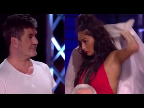 Nicole Sherzy STORMS OFF Stage After Simon Cowell Night of DRAMA!   The X Factor UK 2017