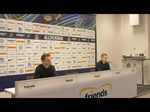 Presskonferens: AIK – ÖSK