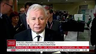 Kaczyński: jest przypuszczenie, że to od samego początku jest coś, co nie ma nic wspólnego ze służbą zdrowia