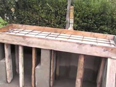 Construir una barbacoa de obra videos videos - Como hacer una parrilla para barbacoa ...