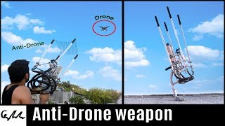 Video Homemade drone catcher MP3, 3GP, MP4, WEBM, AVI, FLV Agustus 2018