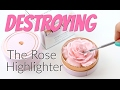 THE MAKEUP BREAKUP - Destroying, weighing n pressing the Lancôme La Rose À Poudrer