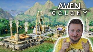 Aven Colony, dudes! Det minder meget om Planetbase, men Aven Colony virker mere kompliceret og ser super godt ud. Jeg er...