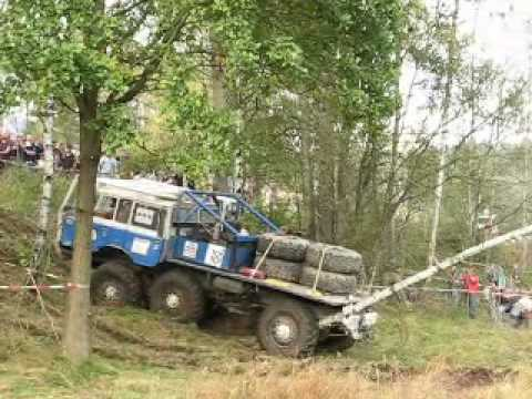 truck - video from Czech truck trial race.