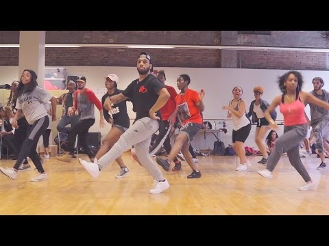 CHICAGO FOOTWORK ROUTINE