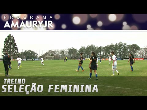 Treino - Seleção Feminina em Itu