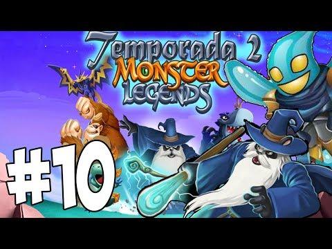 Monster Legends T2 - Capitulo 10 - Drop Elemental y Pandalf