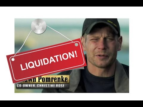 Bering Sea Gold - Pomrenke Liquidation Sale !