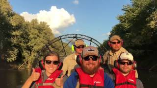 GIS and Hydrology student visit Obion River for a field trip