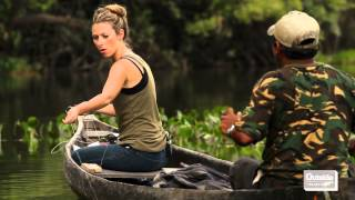 Host Julia Dimon travels to the remote jungles of Guyana to learn about indigenous culture and survival skills. This segment was produced for Outside ...