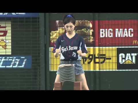 武田梨奈在日本職棒開球的表演告訴我們~人不能單看外表!