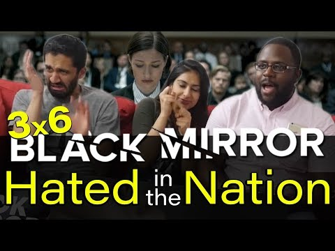 Black Mirror - 3x6 Hated in the Nation - Reaction!