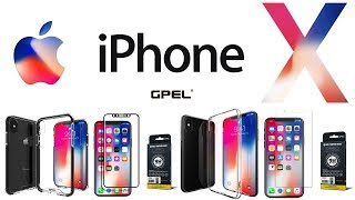 Best iPhone X Cases & Tempered Glass Screen Protectors From GPel! Review