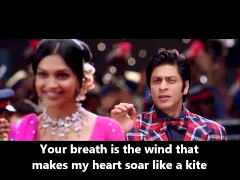 Ankhon Mein Teri - Om Shanti Om (with Eng translations)