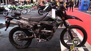 8. 2018 Kawasaki KLX250 Camo - Walkaround - 2018 Toronto Motorcycle Show