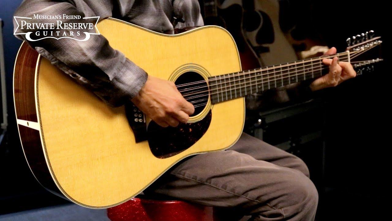 Martin HD12-28 Standard 12-String Dreadnought Acoustic Guitar