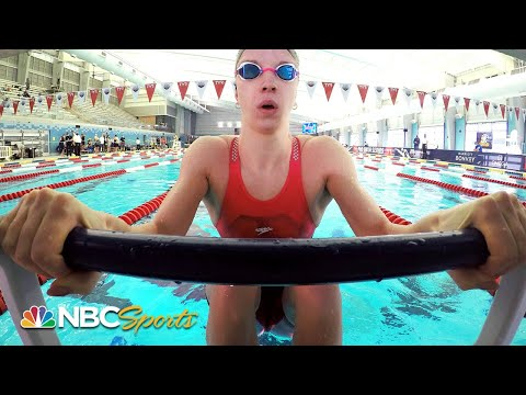 Regan Smith's 100m backstroke final comes down to the touch in San Antonio | NBC Sports