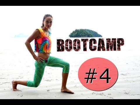 Bootcamp Workout #4 - Ganzkörper Training für Frauen, Frauenfitness, Hardcore Workout
