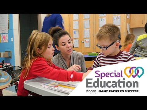Special Education Department - DDSB