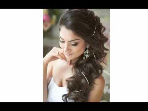 Прически на длинные волосы без челки своими руками на свадьбу