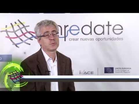 Vicente Gasent, Técnico del IVACE en #EnredateElx 2014
